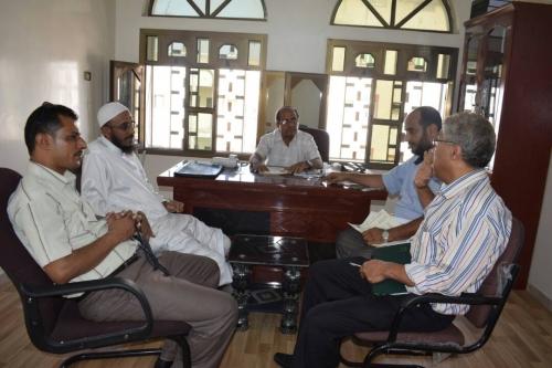 وزير التعليم العالي يستقبل عضو الهيئة الكويتية أبو إسماعيل