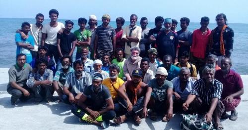 الهند تجلي 38 من بحارتها تقطعت بهم السبل في سقطرة