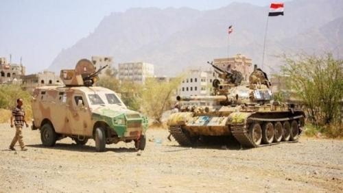 الجيش الوطني يحرر سلسلة جبال العويد الاستراتيجية في تعز
