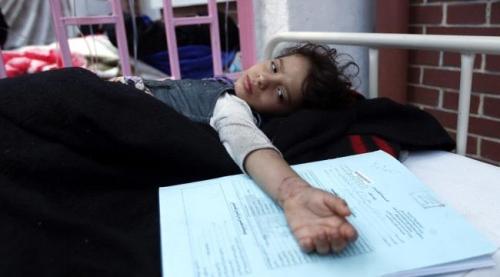 منظمة الصحة العالمية: وباء الكوليرا يهدد الملايين في اليمن