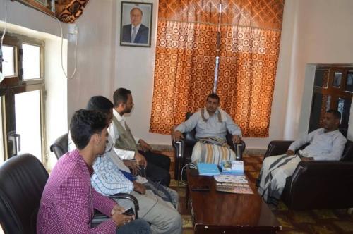 محافظ سقطرى يلتقي عدد من المنظمات العاملة في المحافظة