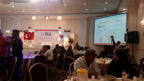 وكالة تيكا تقيم مأدبة إفطار وعشاء بعدن