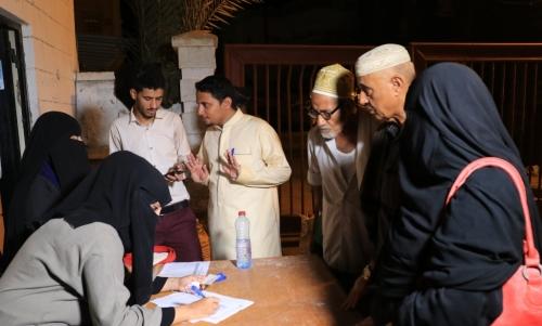 """صندوق """"يافع الخير"""" يستهدف أسر الشهداء والجرحى بعدن في المرحلة الأولى من مشروعه التكافلي """" عطايا الرحمن """""""