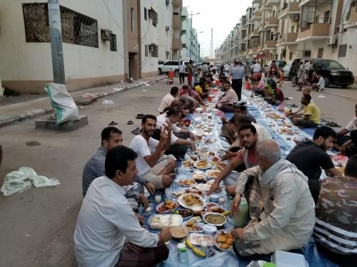 عدن : افطار جماعي لروح شهداء مجزرة سفاح انماء