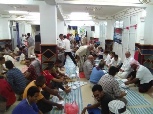 انتقالي صيرة يقيم مأدبة إفطار ضمن فعاليات إحياء ذكرى انتصار عدن والوفاء لدول التحالف