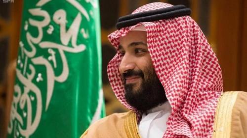 السعوديون يحتفلون بالأمير محمد بن سلمان بعد مرور عام على ولاية العهد