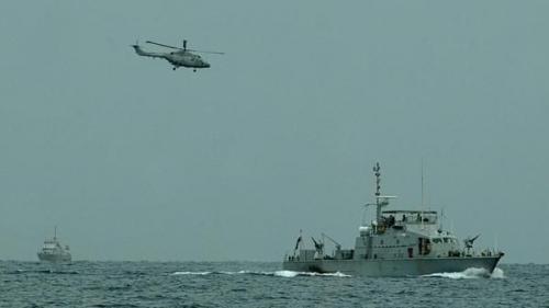 مصادر : بوارج وسفن التحالف العربي تقترب من سواحل الدريهمي