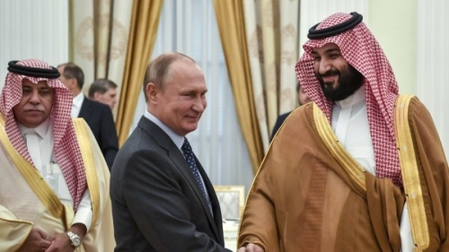 محمد بن سلمان وبوتين يبحثان علاقات التعاون والمستجدات في المنطقة