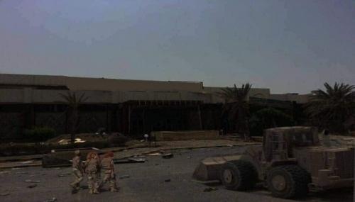 تحرير مطار الحديدة والبدء بنزع الألغام
