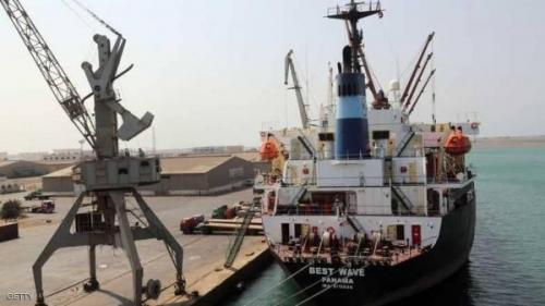 التحالف يعلن استمرار منح تصاريح للسفن المتجهة للحديدة