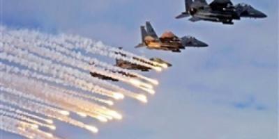 مقاتلات التحالف تشن سلسلة غارات على أهداف للمليشيا داخل وفي ضواحي الحديدة