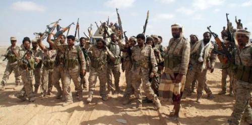 الجيش الوطني يعلن تحرير مواقع عسكرية في تعز