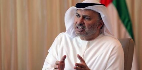 قرقاش : المواطن القطري غير راض عن دعم حكومته للحوثيين وتقارب بلاده من طهران