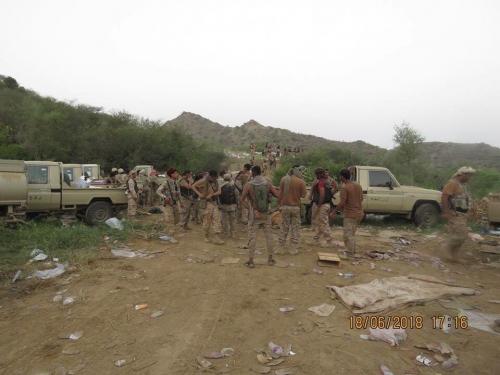 الجيش يسيطر على مواقع جديدة في الملاحيظ بصعدة