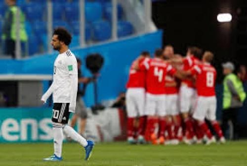 روسيا تهزم مصر بثلاث أهداف مقابل هدف