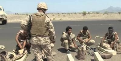 قوات التحالف العربي تنزع مئات الألغام في مديرية باقم شمالي صعدة
