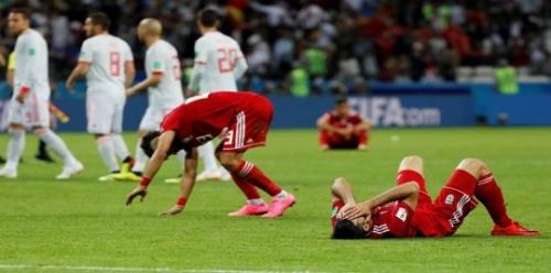 ترتيب المجموعة الثانية في كأس العالم بعد فوز إسبانيا والبرتغال على إيران والمغرب ( صورة )