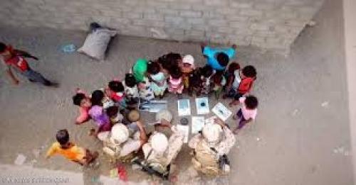 """التحالف العربي في """" مهمة إنسانية """" لحماية أطفال اليمن"""