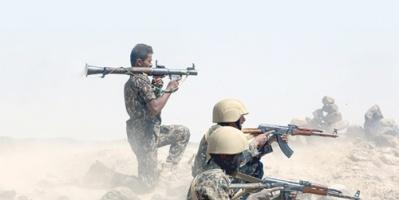 مقتل 15 حوثياً بعد محاولتهم التسلل إلى أحد مواقع الجيش الوطني في جبهة صرواح