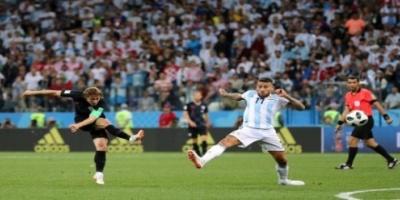 كرواتيا تقسو على الأرجنتين بثلاثية وتصعد إلى ثمن نهائي كأس العالم
