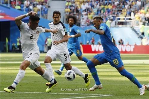 كأس العالم 2018.. الوقت بدل الضائع يمنح البرازيل فوزها الأوّل