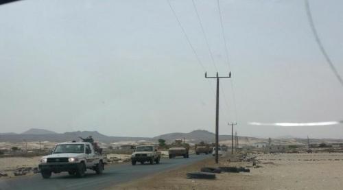 قوات النخبة الشبوانية بمحور حراد تدين واقعة رفع علم الوحدة اليمنية
