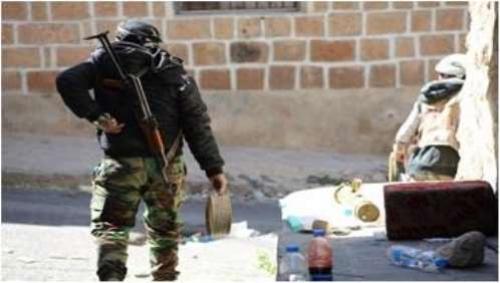 إغتيال قائد نقطة عسكرية في تعز