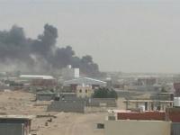 طيران التحالف يستهدف تعزيزات لمليشيا الحوثي قرب التحيتا