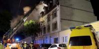 انفجار ضخم يدمر مبنى غربي ألمانيا.. ووقوع جرحى