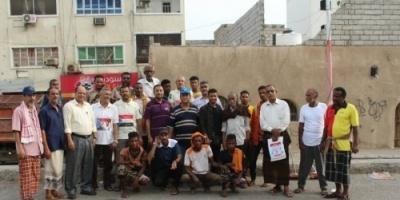 مديرية المعلا تشهد حملة نظافة برعاية من المجلس الانتقالي