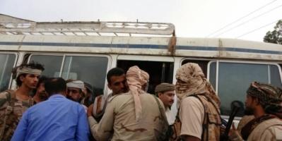 تفاصيل أكبر عملية لتبادل الأسرى بين قوات العمالقة الجنوبية ومليشيا الحوثي ( صور )