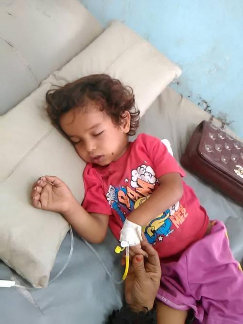 بعد تسجيل حالة وفاة بسبب انتشار الحصبة : اهالي المحفد يستغيثون لانقاذ حياة  الاطفال