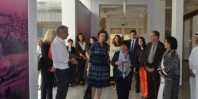 مدير عام اليونسكو تزور مواقع التراث الإنسانى فى البحرين