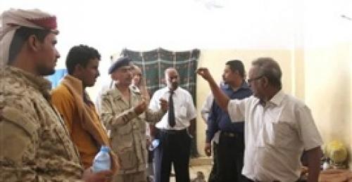 رئيس استئناف نيابة سيئون يطلع على أوضاع السجن العام