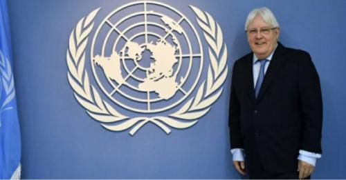 """""""غريفيت"""" يناقش مع وزراء خارجية الاتحاد الاوروبي أخر التطورات في اليمن"""