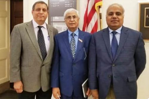 """رئيس مكتب العلاقات الخارجية بالمجلس الانتقالي في الولايات المتحدة يلتقي مسؤولين في """"الكونغرس"""" الأمريكي"""