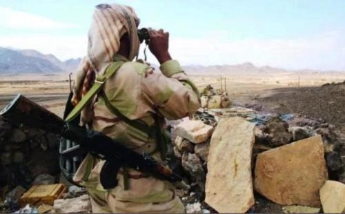 الجيش الوطني يعلن عن تحرير جميع مرتفعات الضواري شمال لحج