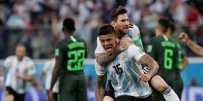 كأس العالم 2018 .. الأرجنتين إلى ثمن نهائي المونديال بفوز قاتل على نيجيريا