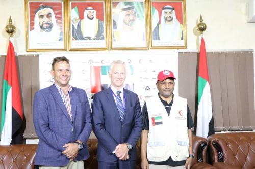 مساعد الأمين العام للأمم المتحدة لمكتب الأمن والسلامة يشيد بالمشاريع التي تنفذها الإمارات في المحافظات المحررة