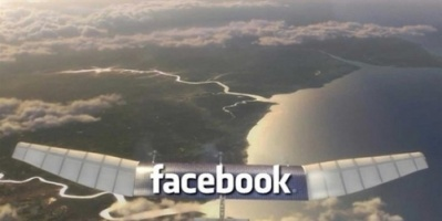 فيس بوك توقف مشروع طائرات مسيّرة لتوفير الإنترنت