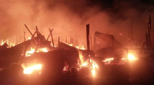 مصرع وإصابة 85 شخصاً جراء اندلاع حريق بسوق في نيروبي
