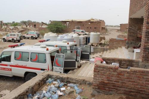 فريق الدائرة الصحية بألوية الدعم والأسناد يزور المستشفى الميداني بالخوخة