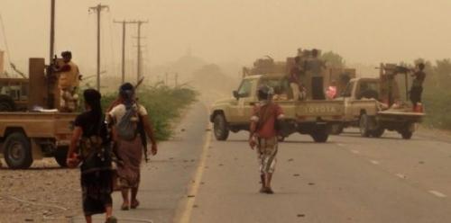 مصرع قياديين حوثيين بارزين في جبهة الساحل الغربي