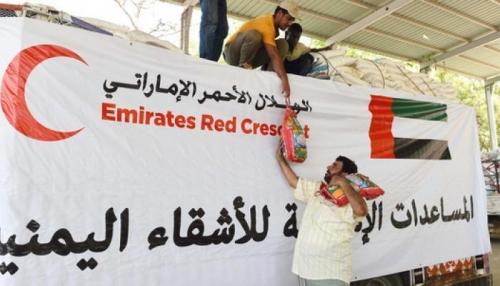 21 ألف مواطن بالحديدة يستفيدون من المساعدات الإنسانية الإماراتية