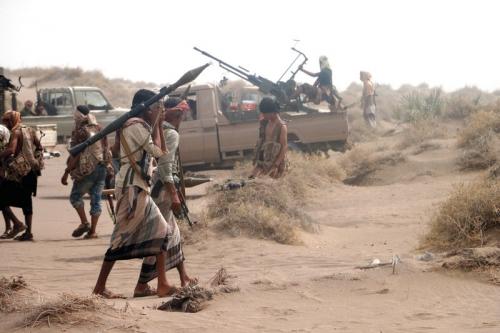 قوات الشرعية تبدأ عملية واسعة لتحرير الراهدة في تعز