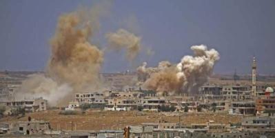 مقتل 60 مدنيا في غارات على درعا السورية