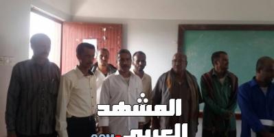 مدير عام حالمين ورئيس المجلس الانتقالي يدشنان امتحانات إتمام الشهادة الثانوية بالمديرية