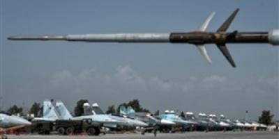 طائرات بدون طيار تهاجم قاعدة حميميم الروسية