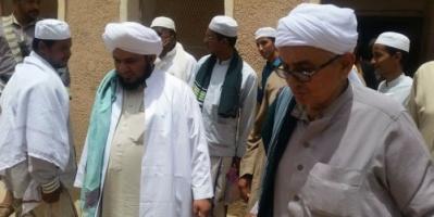 شبوة : وصول الداعية علي محضار بن علي بن أبوبكر المشهور إلى مدينة حبان