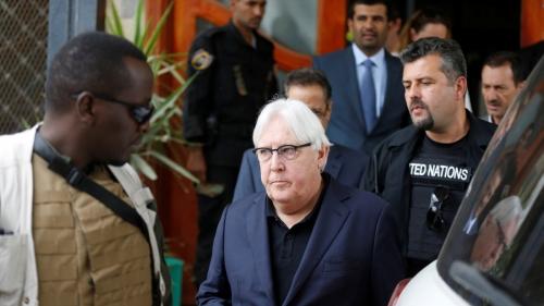 غريفيث إلى صنعاء لمطالبة الحوثي بانسحاب كامل من الحديدة